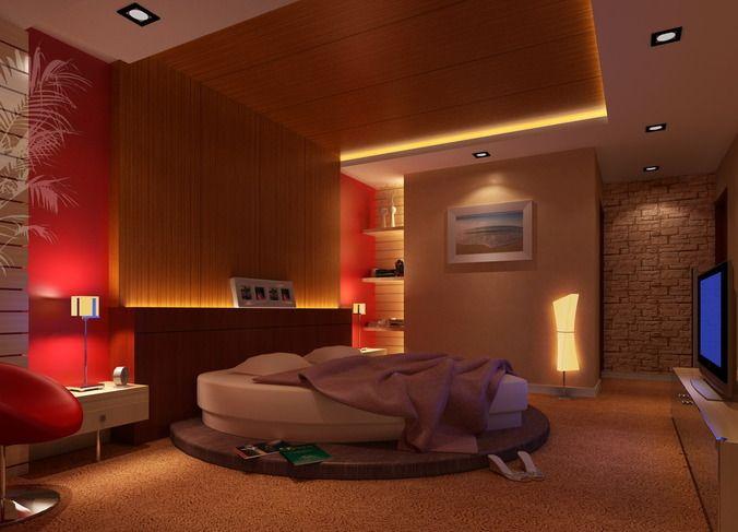 Bedroom With Heart Shaped Bed Bed Design Bedroom Design Home Decor