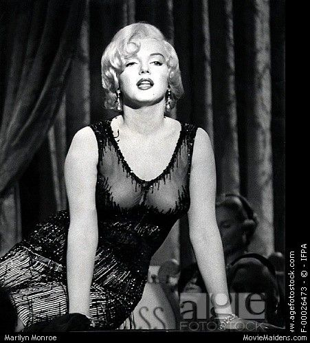 Marilyn Monroe - 1950s actress ... when she was young - MovieMaidens.com