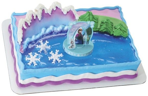 Frozen themed sheet cake from Safeway Cakes Pinterest Cake