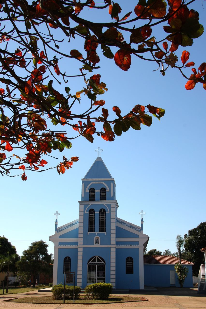 igreja de Amanhece Araguari MG