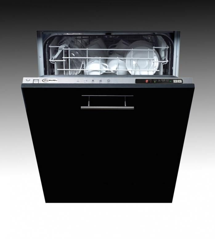 Flavel Fdw45 Fully Integrated 45cm Dishwasher Available In Black
