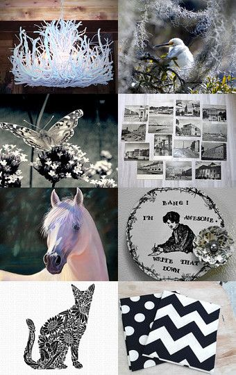 B/W beauties by Marie ArtCollection on Etsy--Pinned with TreasuryPin.com