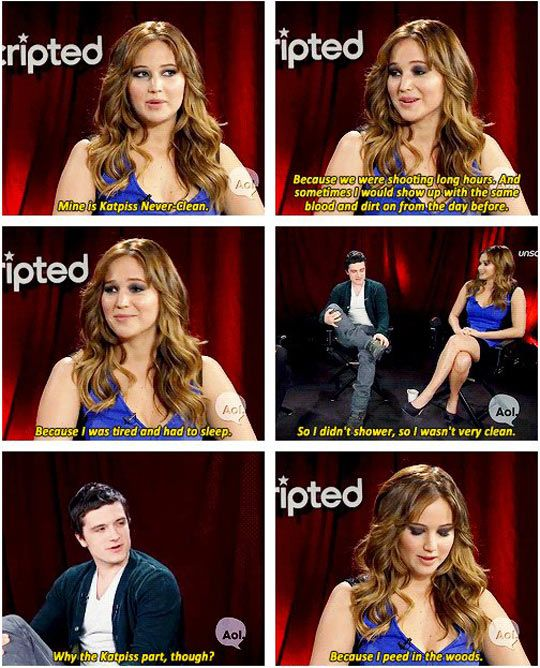 Omg This Is Why I Love Her Jennifer Lawrence Funny Hunger Games Jennifer Lawrence