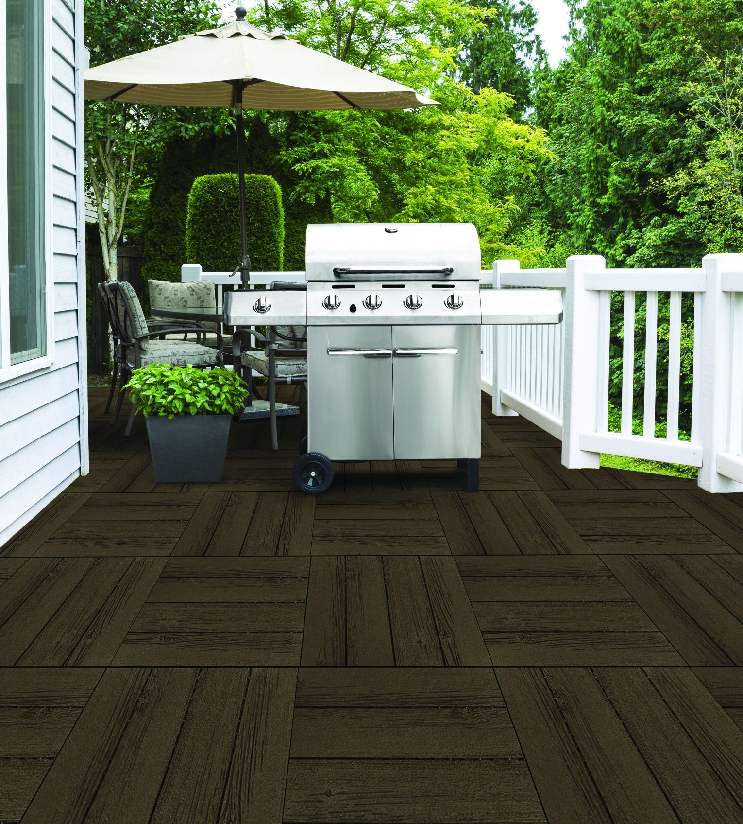 Transform your outdoor living area into a space with