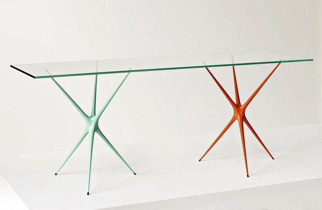 Supernova Tresle Table From Made In Ratio Tisch Dekor