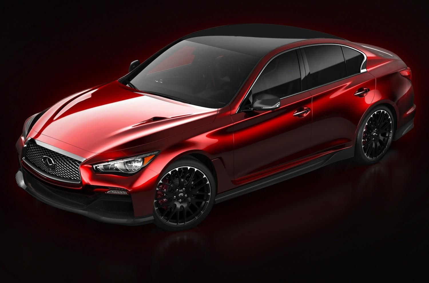 While complete tech specs won t be released until its official reveal at the detroit auto show we now have our first full look at the infiniti eau rouge