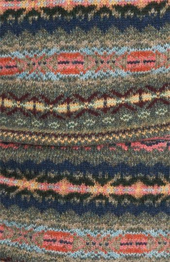 Fair Isle Sweater Design ck when I went to Scotland in '85 I saw a beautiful sweater which I could not afford and the knitter wrote down what it was so I could order it..wonder where that paper is?