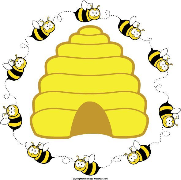preschool bee home free clipart bee clipart beehive bee circle 2 rh pinterest com beehive clipart beehive clipart free