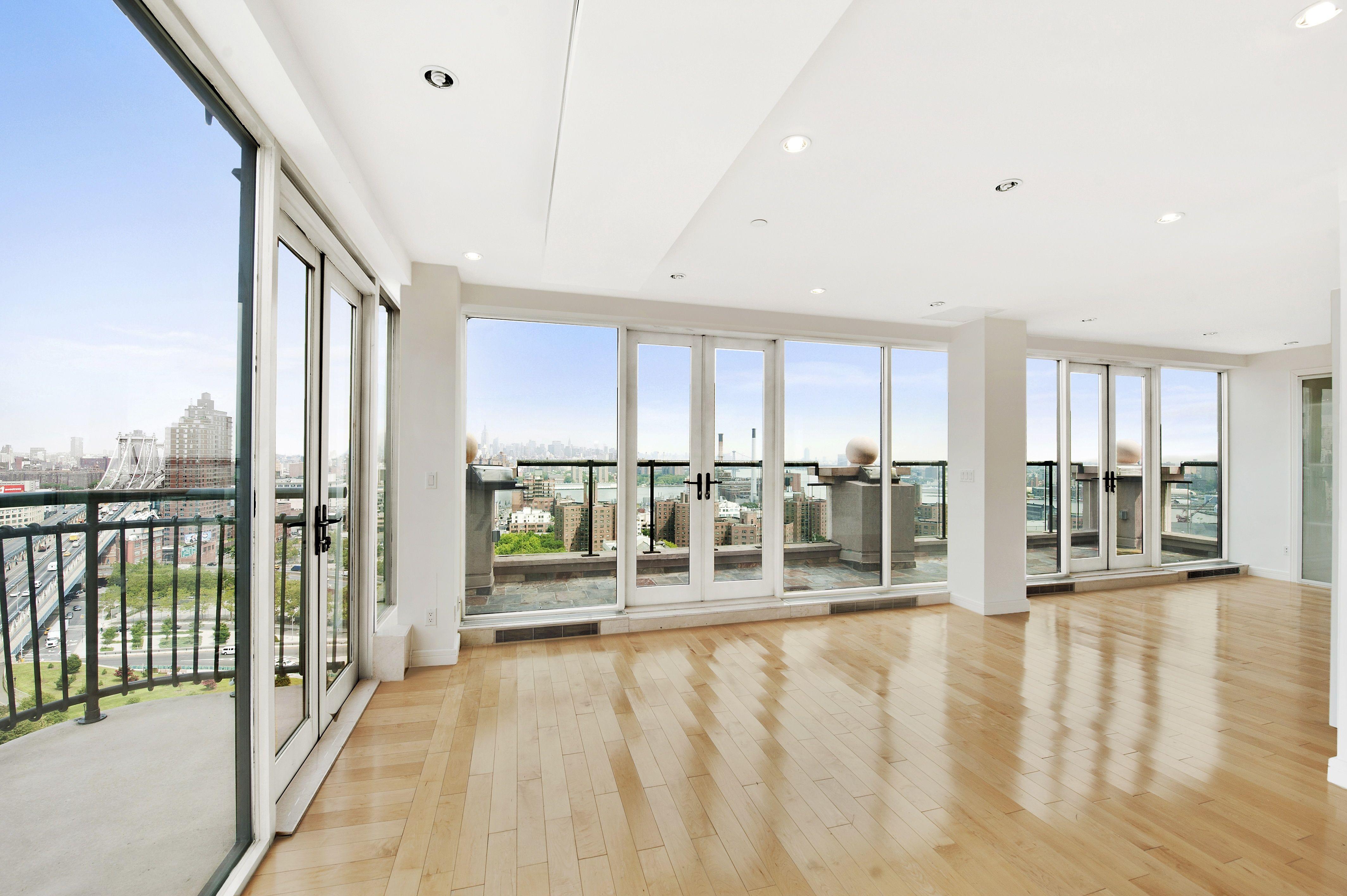 downtown brooklyn glass duplex penthouse stunner 5 br for sale
