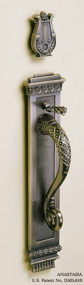 Anastasia Thumblatch Luxury Door Handles Ironmongery