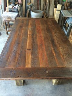 This Reclaimed Wood Dining Table Will Take Your Room To The Next Level There Are Pre Selected Sizes Which You Can Order From Or Have