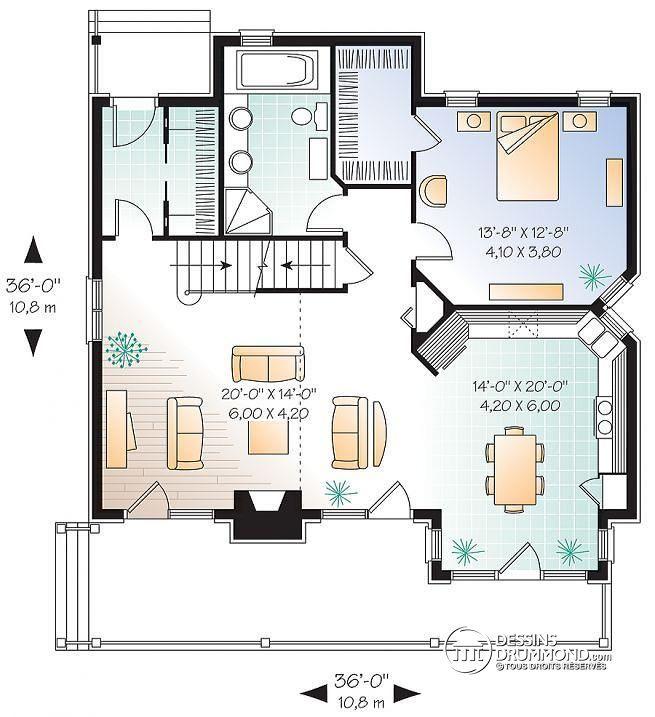 Plan Maison Avec Mezzanine Ouverte. Free Maisons Modernes ...