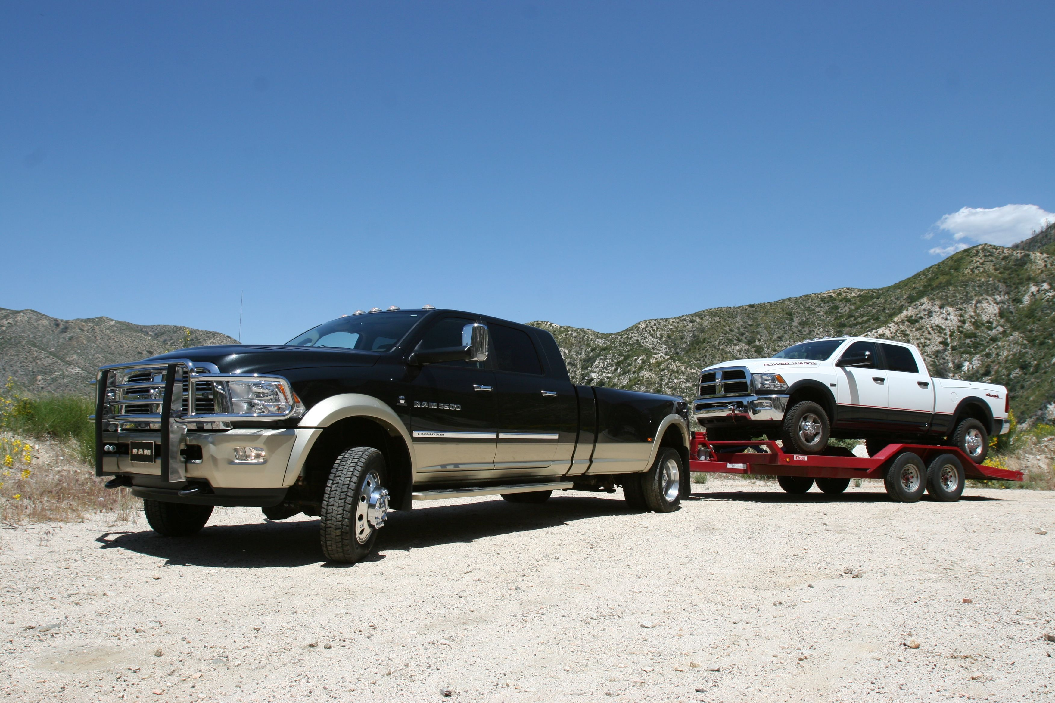 It looks like the ram 5500 long hauler very well may make it as a regular
