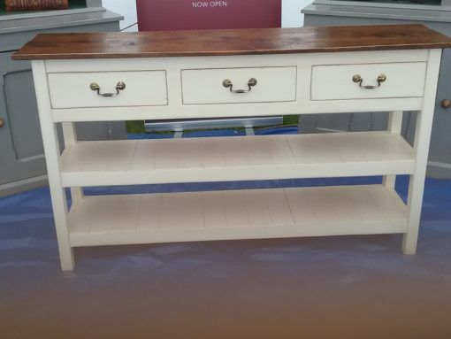 3 Drawer Painted Server | JUST JONES INTERIORS