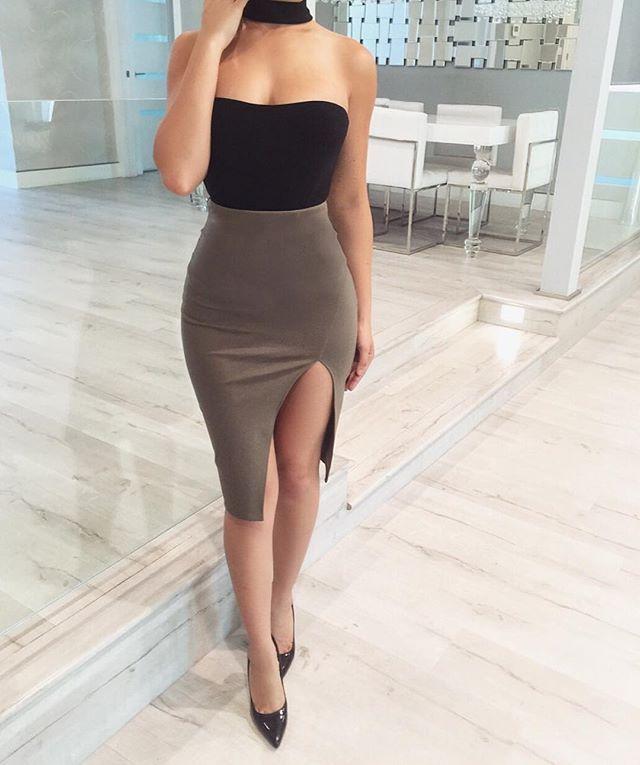 2802c8d4900f  VontiqueJackson Skirt Outfits