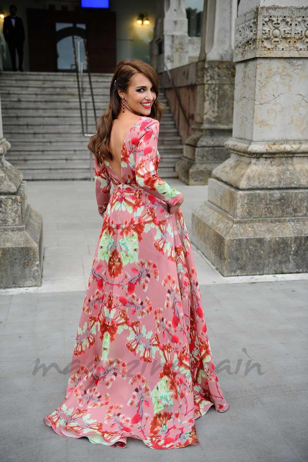 Paula Echevarría en la boda de Marta Hazas y Javier Veiga ...