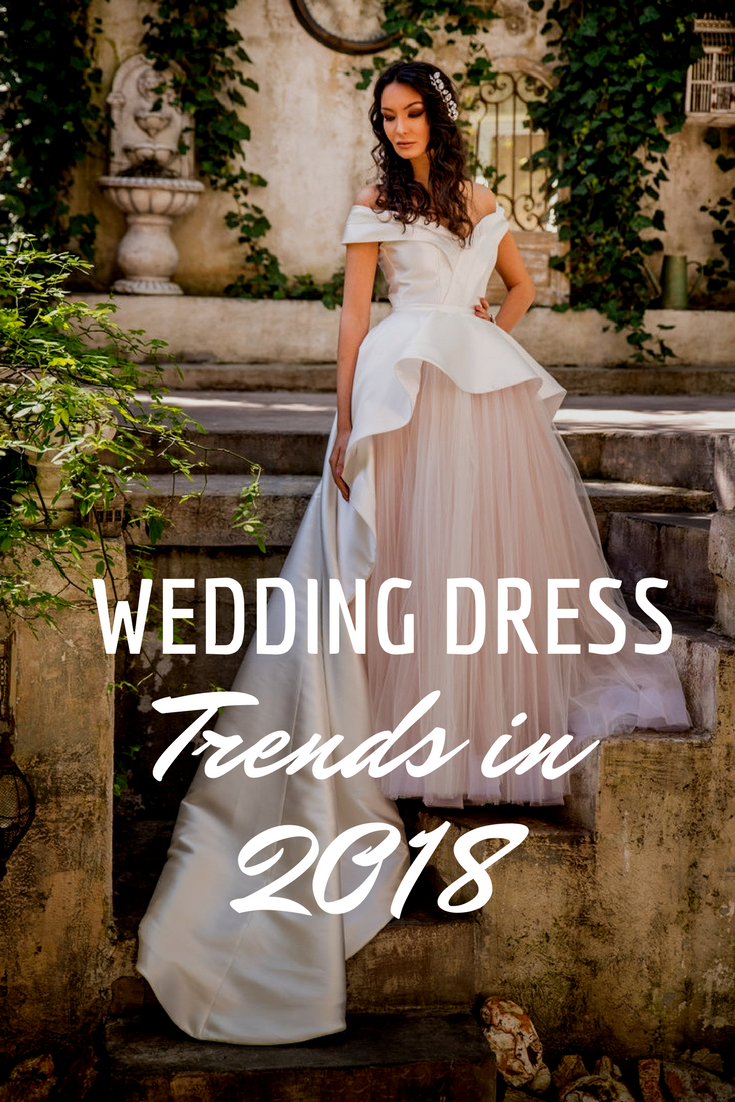 wedding dress trends to swoon over in aweinspiring fashion