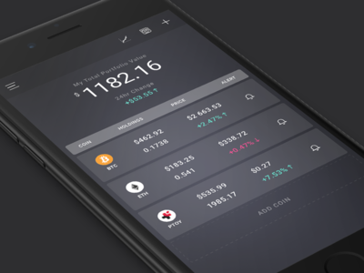 Blox cryptocurrency portfolio android