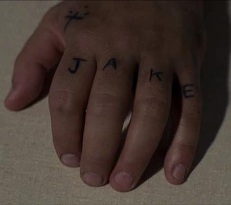 Jake Blues The Blues Brothers Tats Small Cross Tattoos