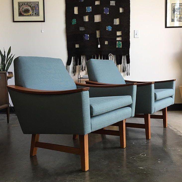 Two beautiful mid century chairs Regram from midcenturymodern