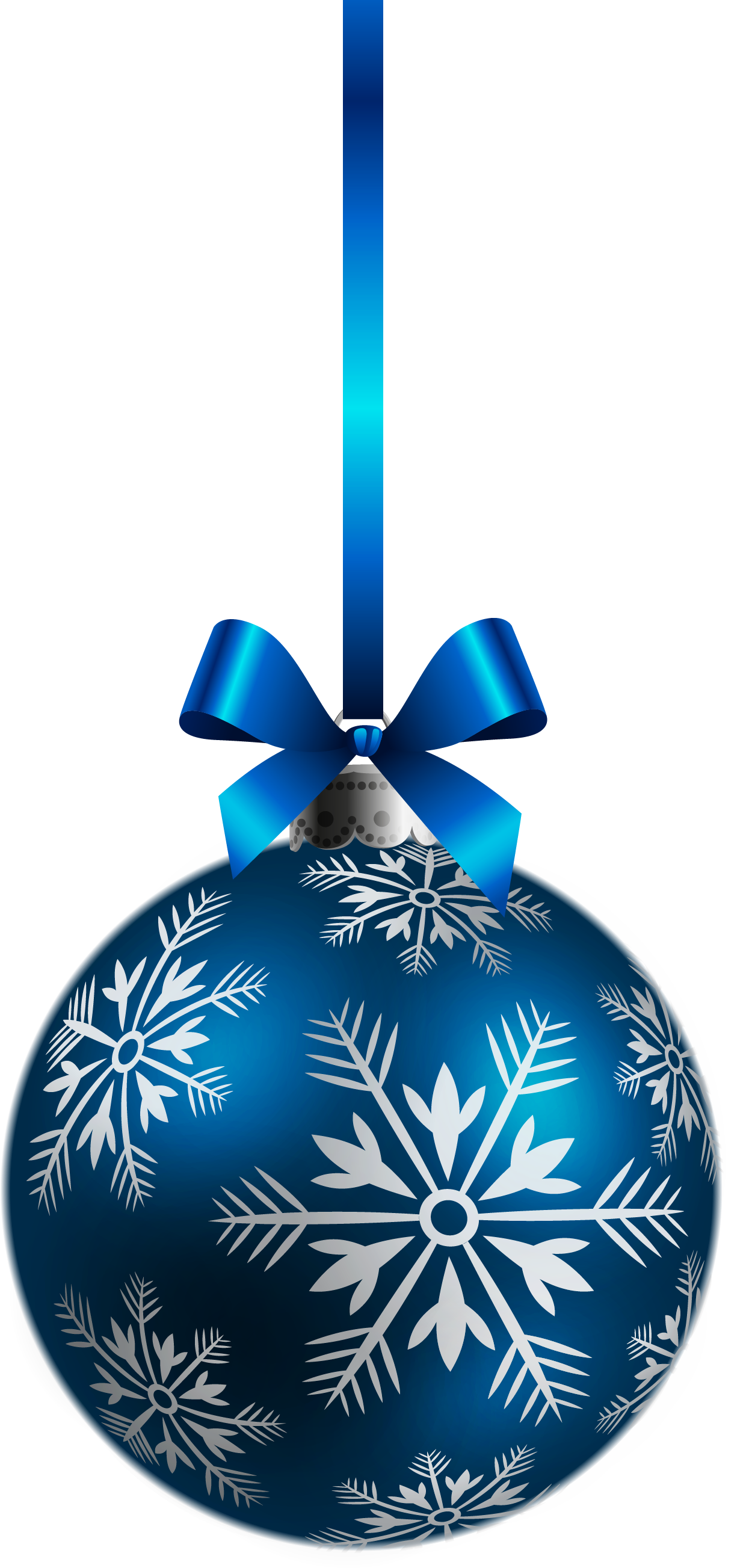Silver christmas decorations png for Decoration png