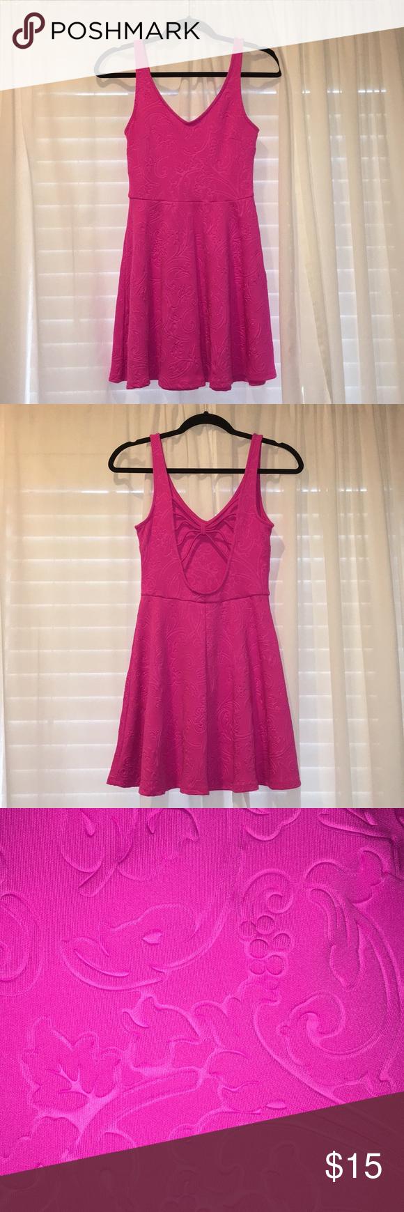 Pink dress forever 21  Forever Pink Dress  Bright pink dresses Pink dresses and Bright pink