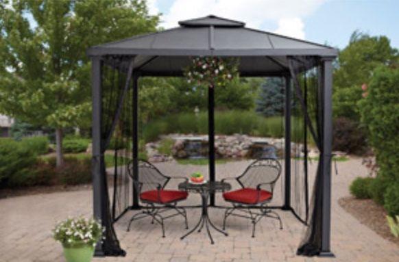 Pin by Kim Carroll on Outdoors Fun | Gazebo, Gazebo canopy ...