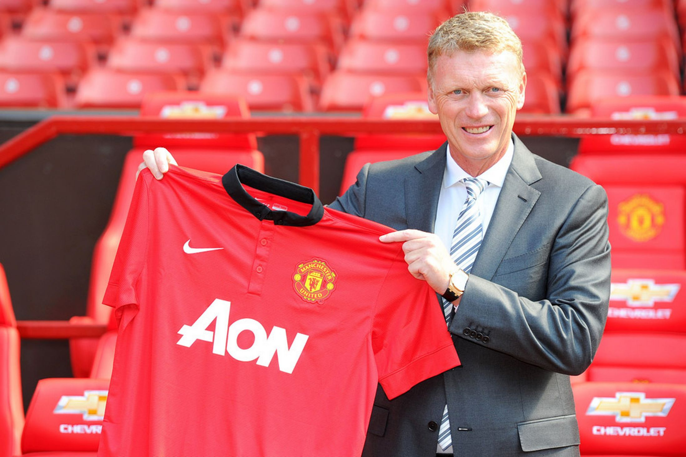 David Moyes Press Conference Manchester United S New Boss Unveiled As It Happened David Moyes Manchester United Football Club Manchester United