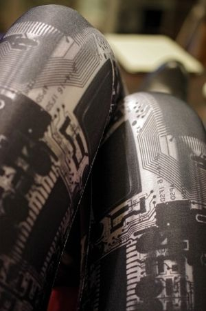 cyberpunk fashion, future, cyberpunk girl, black leggings, cyberpunk leggings, gyberpunk style, cyberpunk, futuristic, cyber, cyber goth by FuturisticNews.com