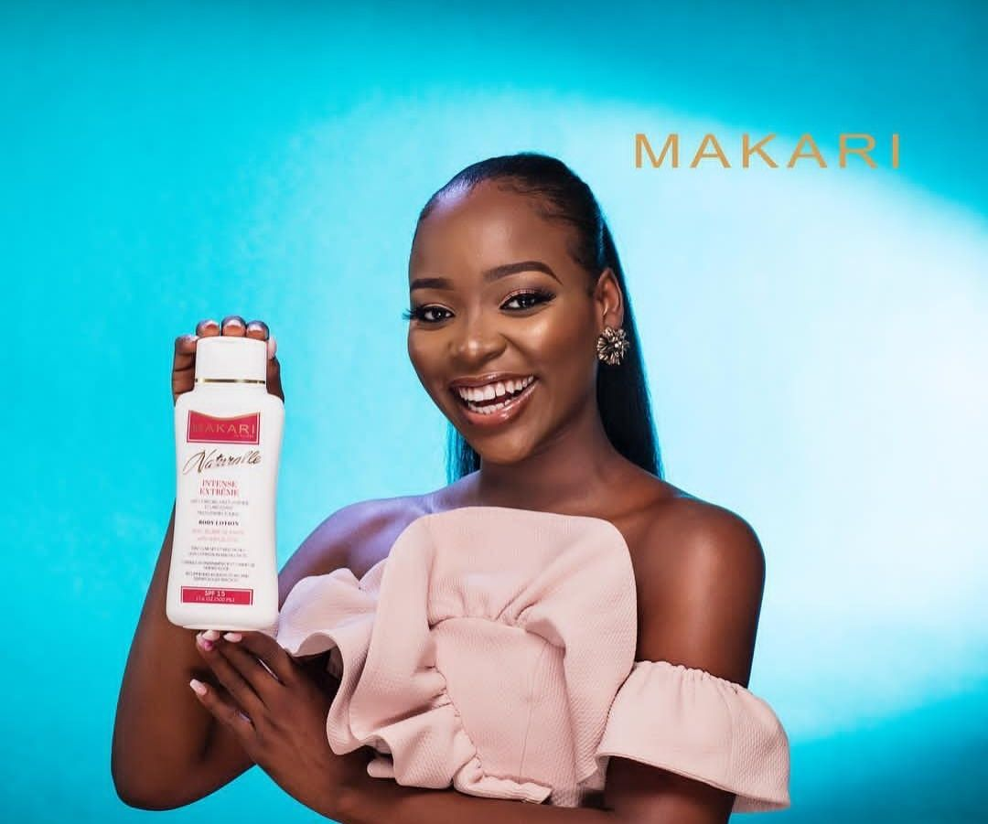 Makari Intense Extreme Multi Vitamin Toning Body Lotion Enriched With Shea Butter Spf 15 17 6 Fl Oz It Prevents Skin Lightening Cream Skin Care Normal Skin