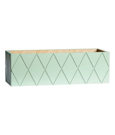 H\M Rechteckiger Holzkasten 14,99 Wohnzimmer in grau, grün und - wohnzimmer petrol grun