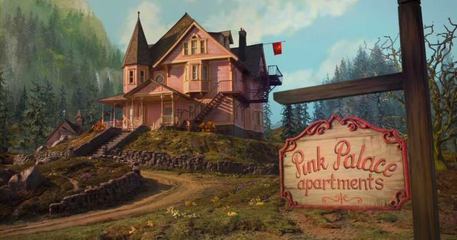 Pink Palace Apartments Coraline Coraline Aesthetic Coraline Theory