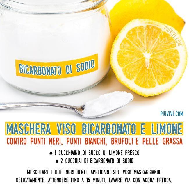 come prendere il limone con bicarbonato di sodio