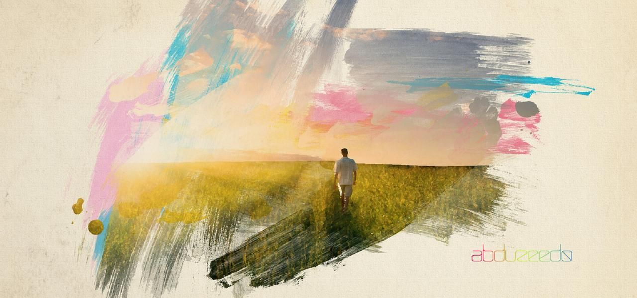 Super Cool Watercolor Effect In 10 Steps In Photoshop Abduzeedo