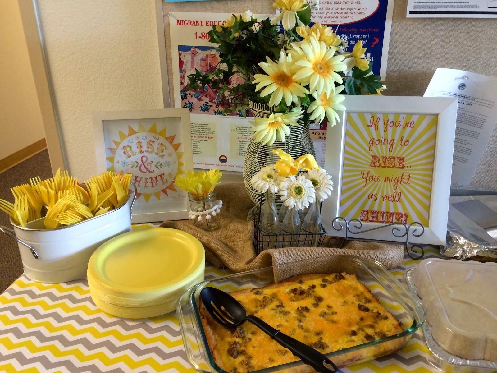 Marci Coombs Teacher Appreciation Breakfast