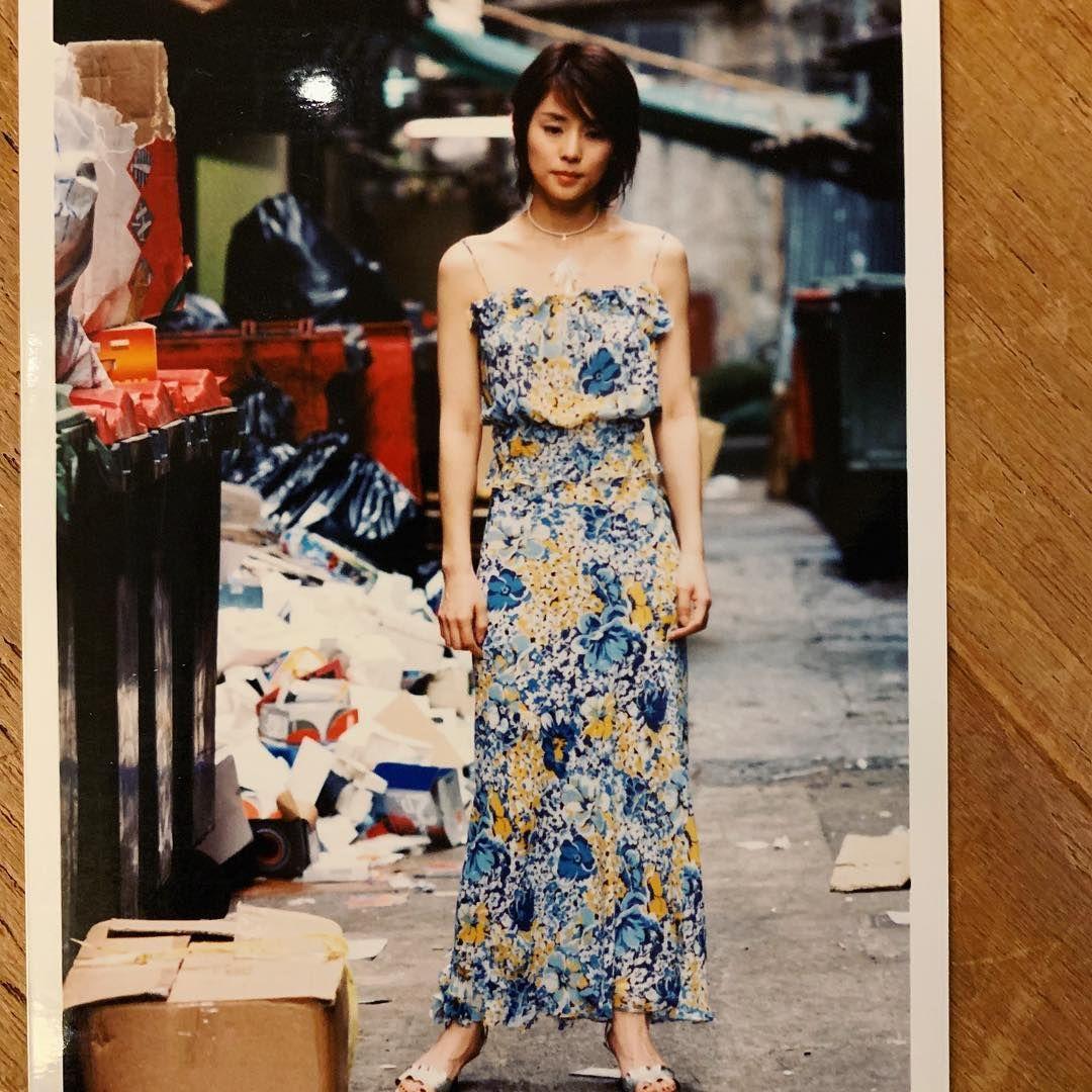 石田ゆり子 きのう、不意に出てきた 昔の写真。 これは、私が32