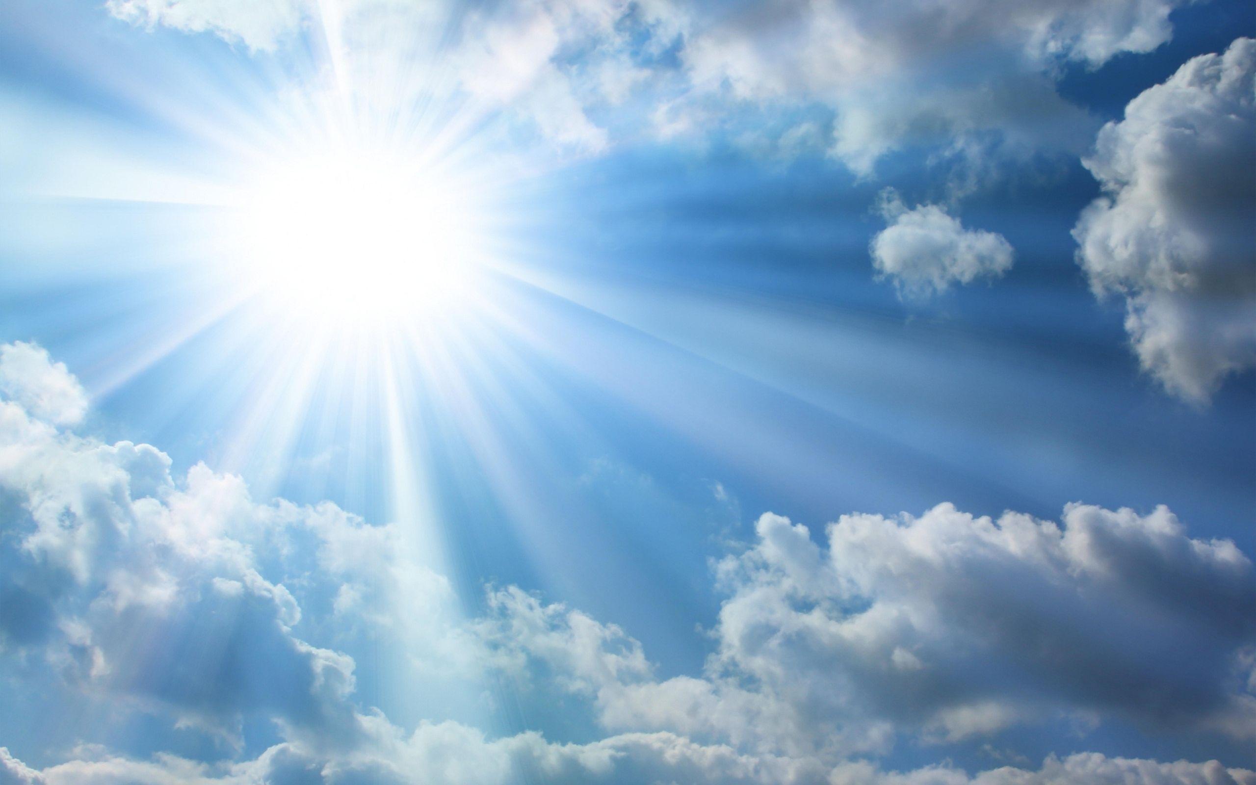 the-bright-sun-blue-sky-clouds | beach house, coastal | pinterest