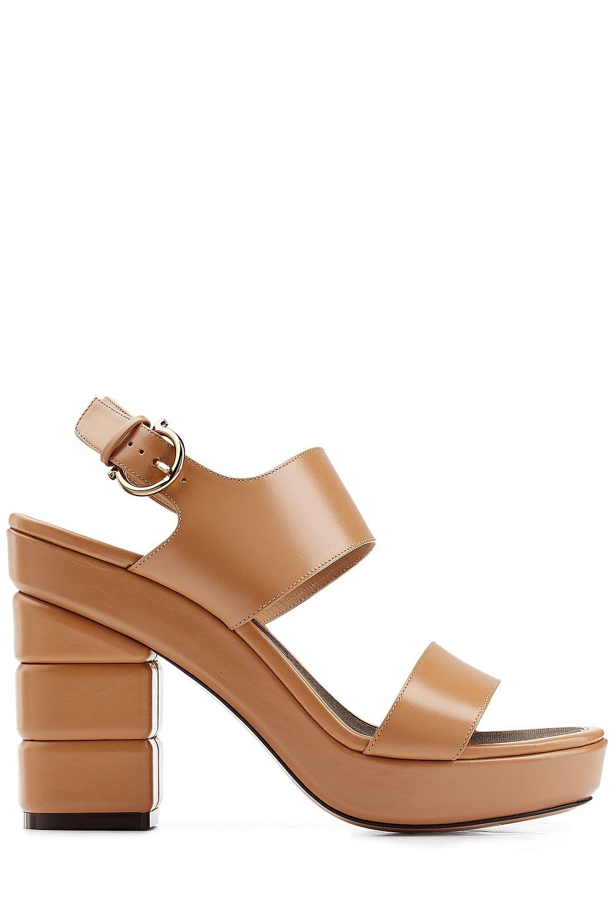 Leather Sandals from SALVATORE FERRAGAMO   Luxury fashion online    STYLEBOP.com 51d67c9338f8