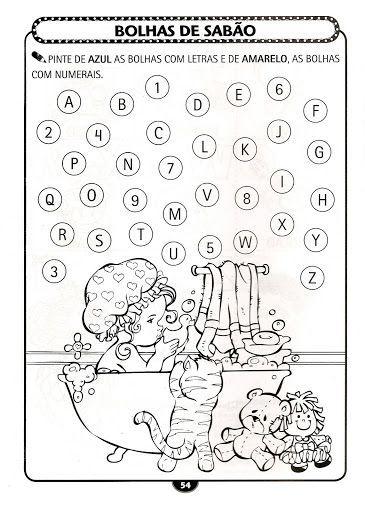 Atividades Para Trabalhar As Letras O Alfabeto Com Imagens
