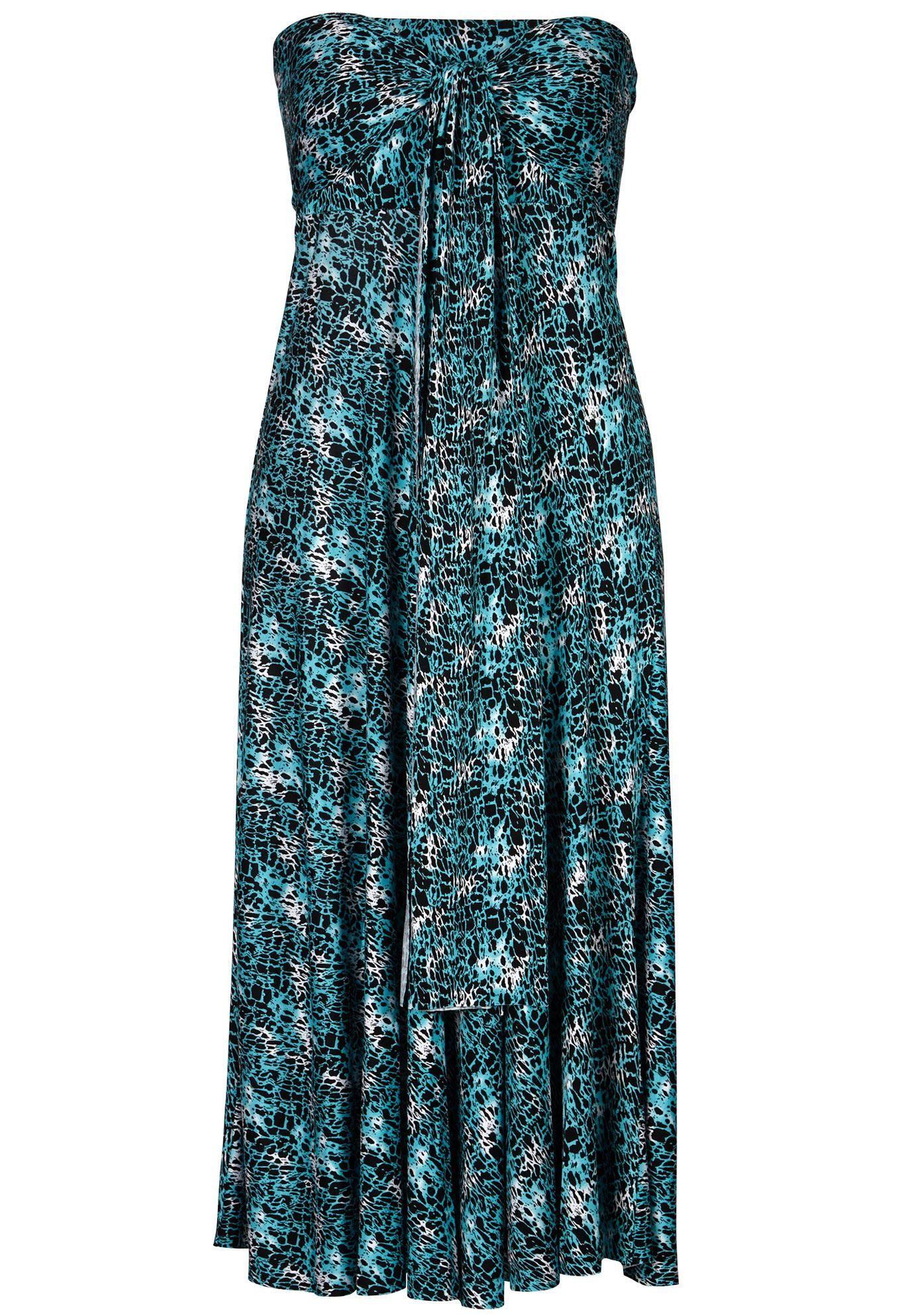 1c0bf2b5de591 Ellos Strapless Beach Dress Cover Up - Women s Plus Size Clothing ...