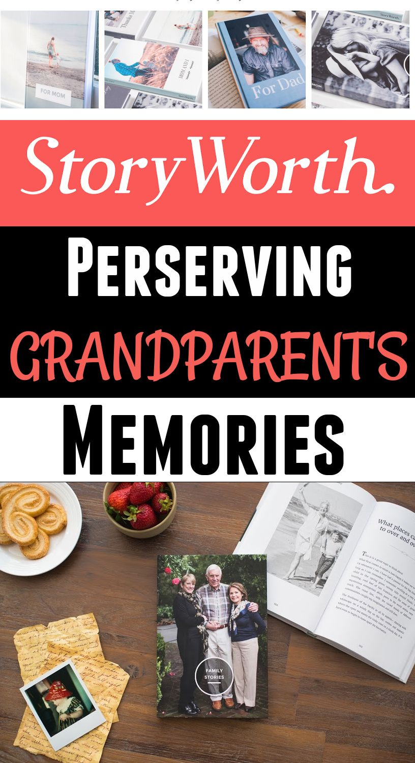 Storyworth the best was to preserve grandparent's