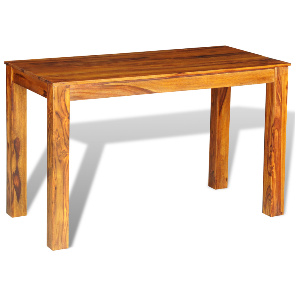 Buy Best Wood Sheesham Solid Wood Dining Table 120 X 60 X 76 Cm