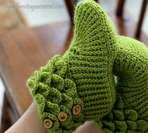 Trio Crocodile Stitch Boot Patterns | I\'d like to try these knits ...