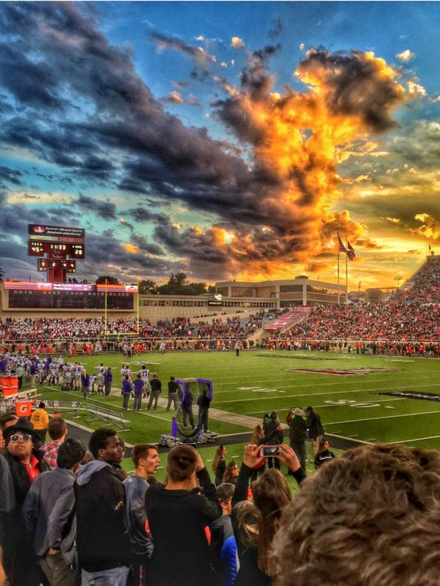 Lubbock, Tx... sunset (With images) Texas tech football