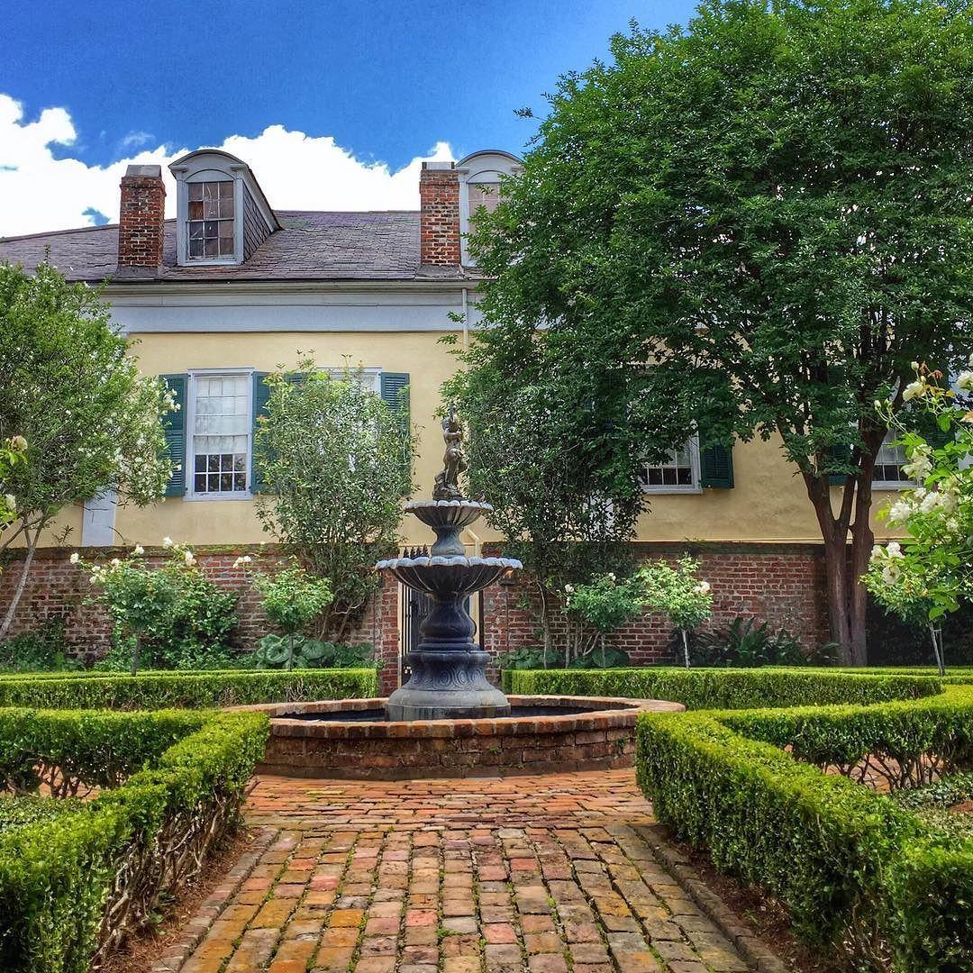 The Charming Gardens Of The Beauregard Keyes House. By Davidnola