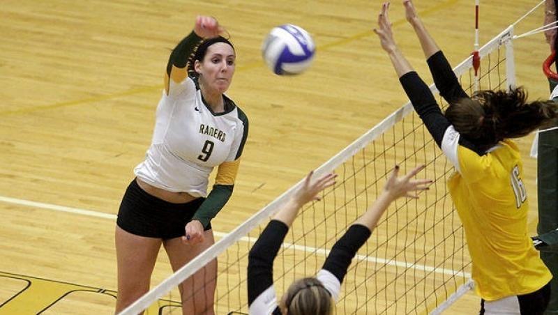 Volleyball Drops Five Set Heartbreaker To Valparaiso Volleyball Athlete Heartbreak