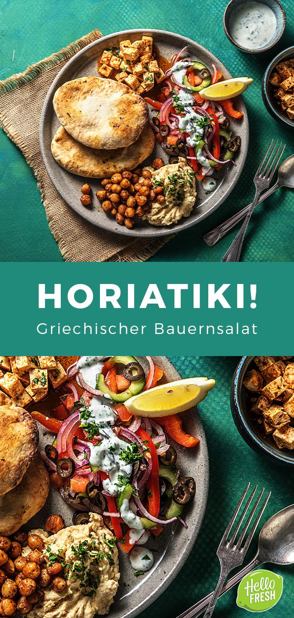 Horiatiki! Griechischer Bauernsalat Rezept | HelloFresh