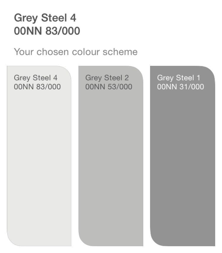Dulux Grey Steel - Hallway | gray paint | Pinterest ...