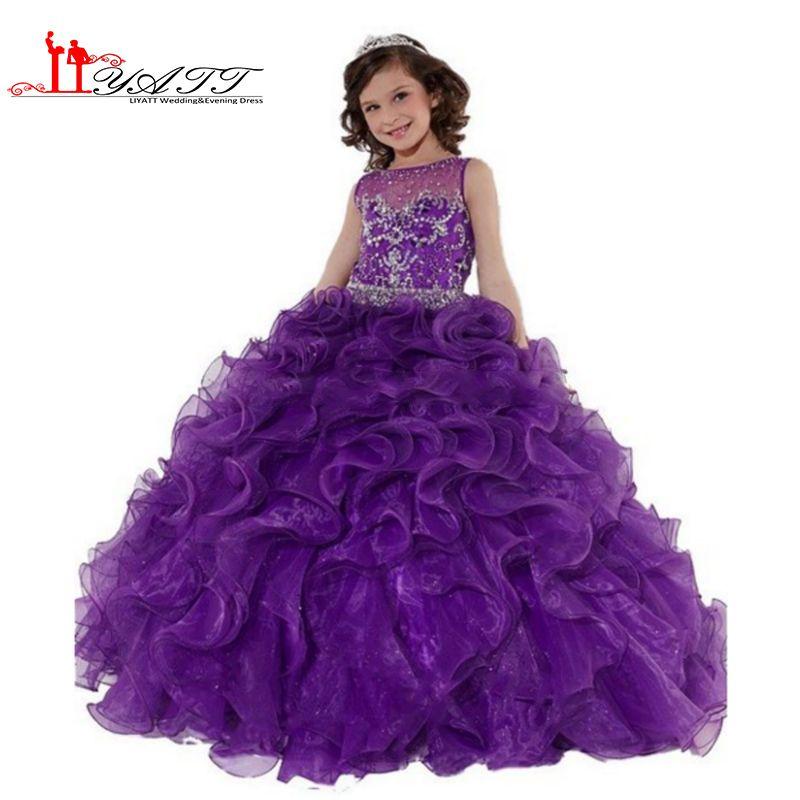 Hermosa La Dama De Honor Púrpura Viste Ebay Ideas Ornamento ...
