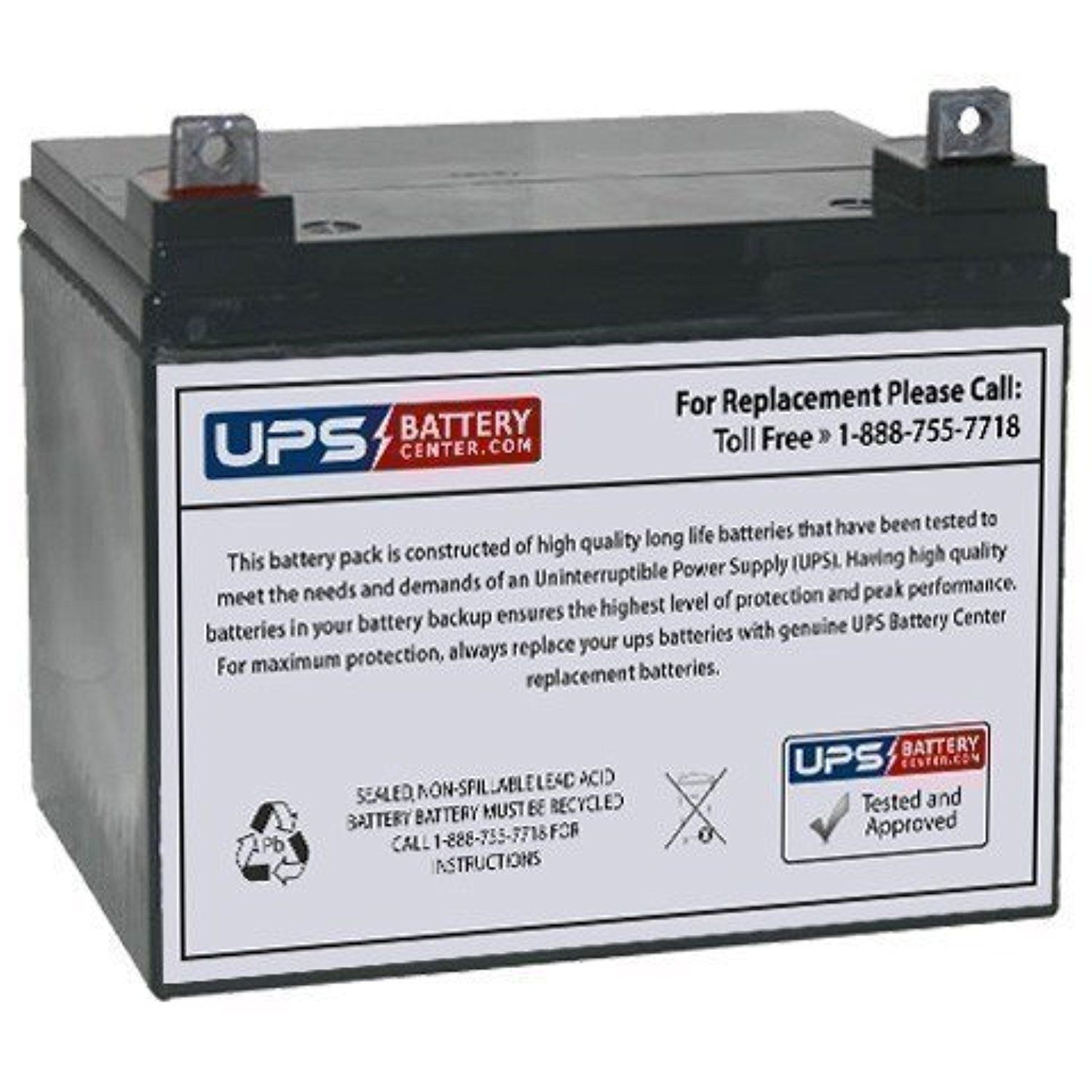 ML35-12 - 12V 35AH Sealed AGM Battery Replacement -- Awesome products selected by Anna Churchill